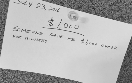 Another $1,000